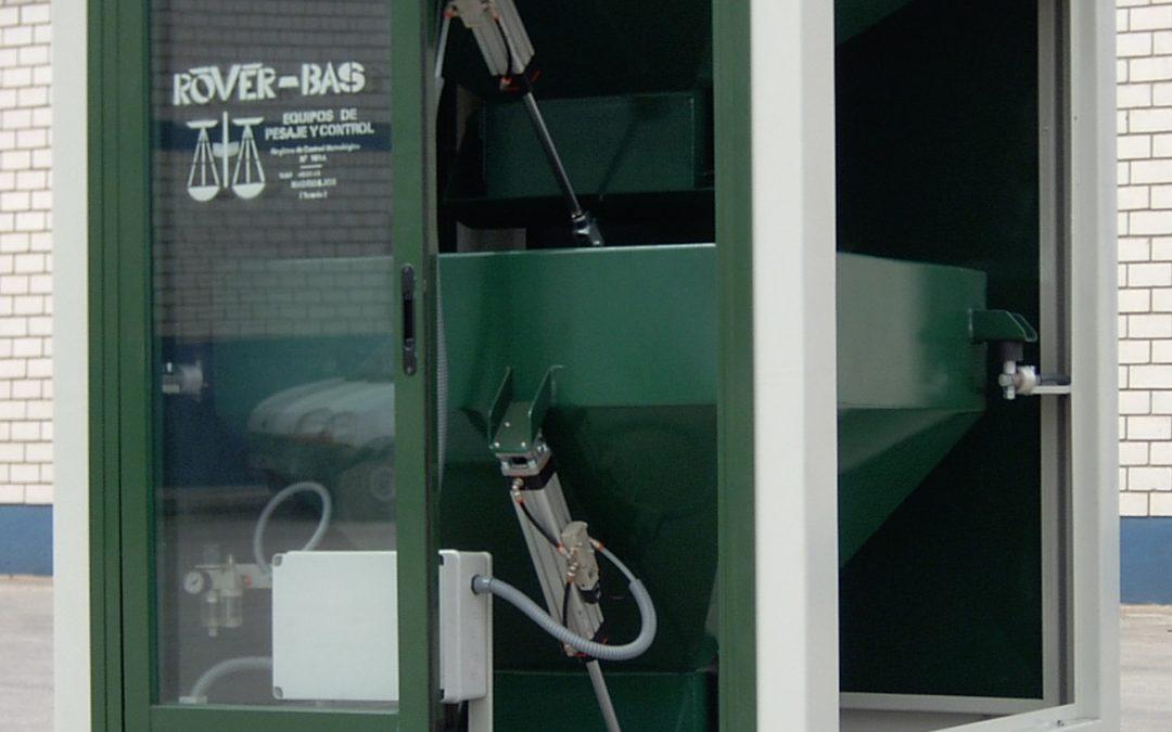 Rover-Bas, S.L. instalador de sistemas de pesaje para aceituna.