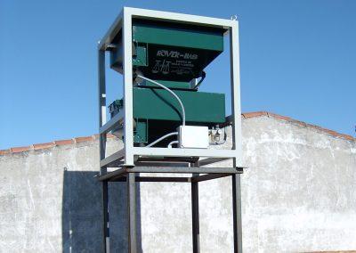 Bascula-pesadora-RV100PC-metalica-aceituna-pesaje-continuo 1