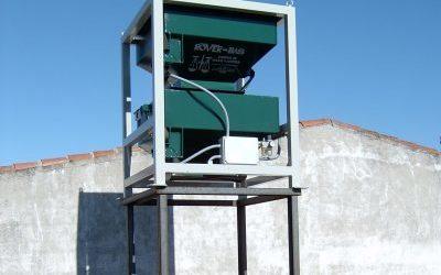 Báscula de pesada continua, sistema electrónico, 100 kg de capacidad