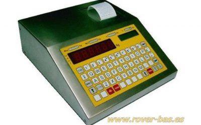 Indicador de peso alfanumérico pesacamiones