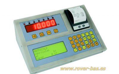 Indicador de peso pesacamiones alfanumérico
