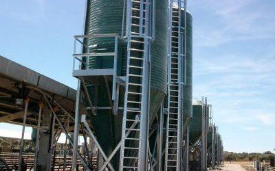 Sistema de pesaje en silos
